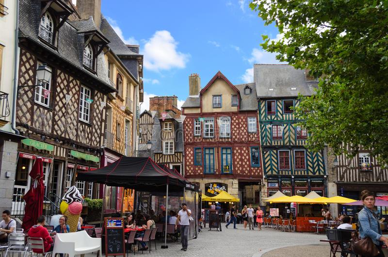 Photo du centre historique de Rennes