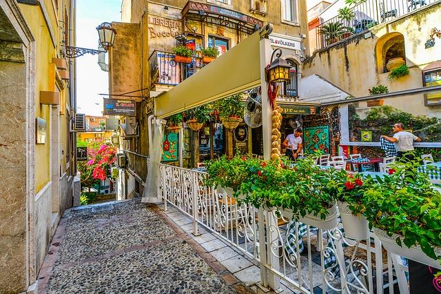 Photo d'un restaurant sicilien
